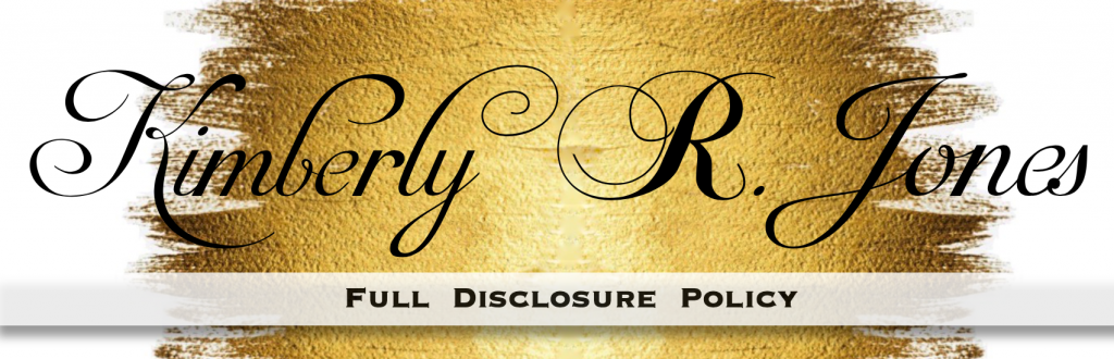 Kimberly R. Jones Full Disclosure Policy