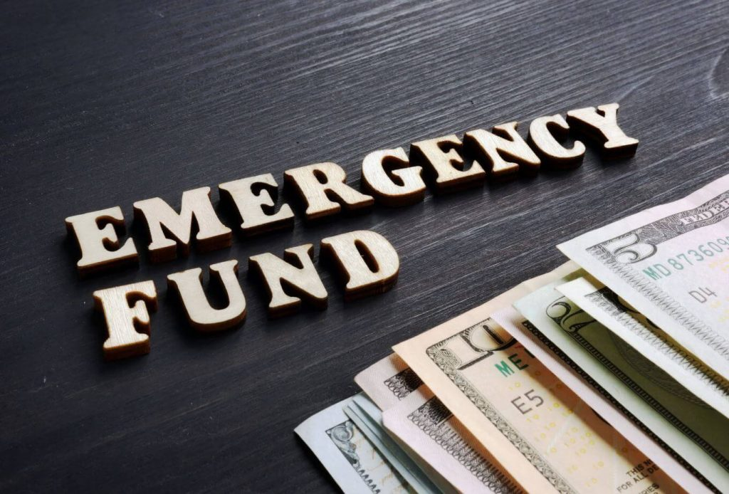 saving for an emergency fund